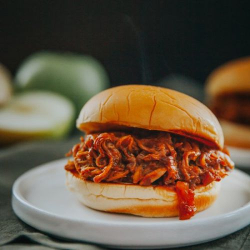 4 Ingredient Apple Pulled Pork