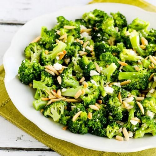 Barely-Blanched Broccoli Salad