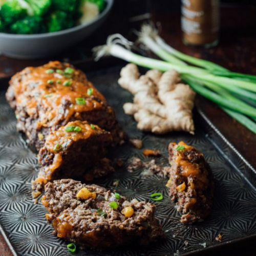 5 Spice Meatloaf with Apricot Glaze