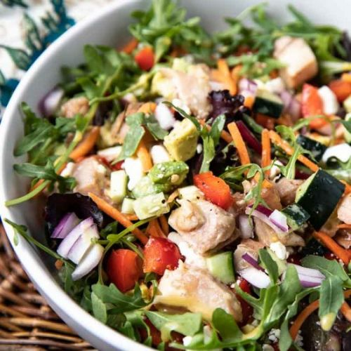 Healthy Chicken Salad with Honey