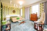 Checkmate! This Queen's Gambit Hotel Room Is Dripping With Chess Pieces -Literally