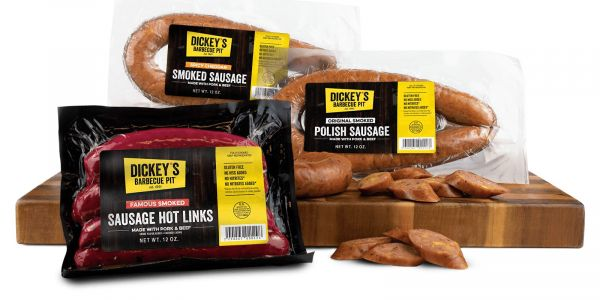 Dickey's Barbecue Pit Offers Sausage in Safeway and Albertsons in the Southwest