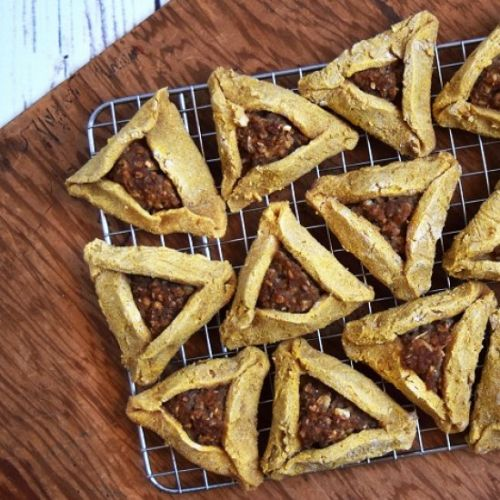 Vegan Buckwheat Hamantaschen