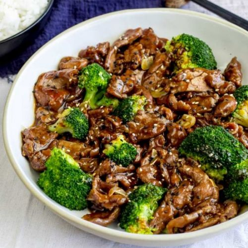 Takeout Chinese Beef and Broccoli