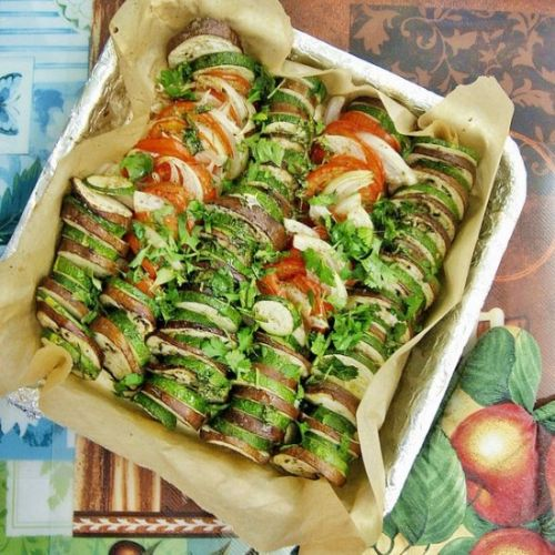 Roast Vegetables Tian