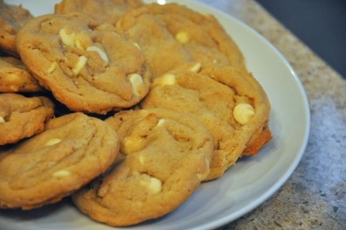 Browned Butter White Chocolate Chip Cookies