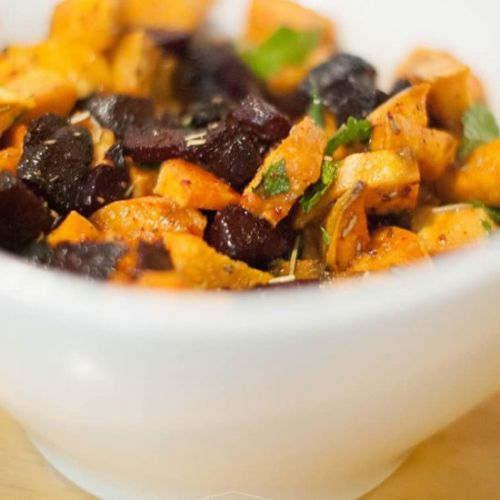 Beet & Sweet Potato Salad