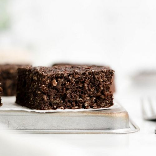 Double Chocolate Oatmeal Snack Cake