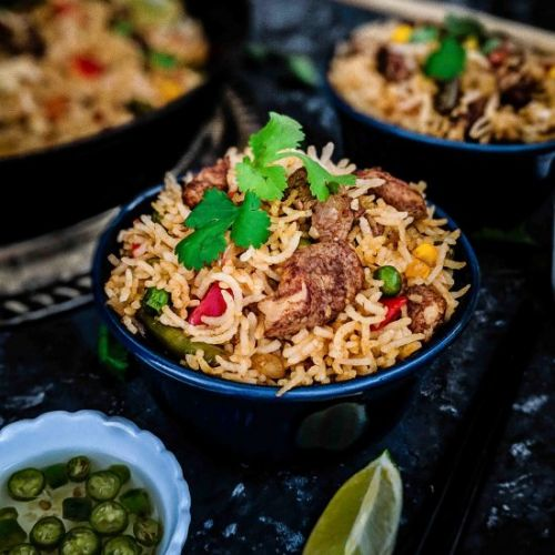 Chinese 5 Spice Chicken Fried Rice
