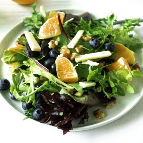 Citrus and Blueberry Salad