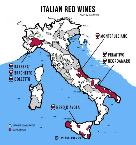 The Best Italian Red Wines for Beginners