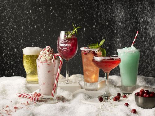 TGI Fridays And Delish Shake Up Social Media And The Bar Scene With Holiday Cocktail Menu
