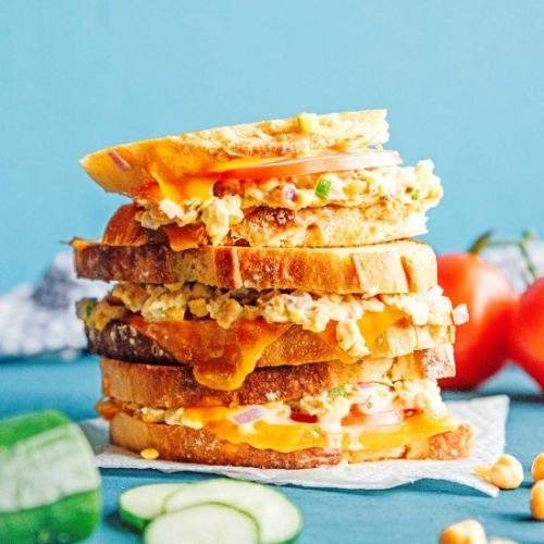 Chickpea Tuna Melt