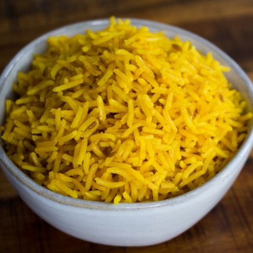 Simple & Flavorful Yellow Rice