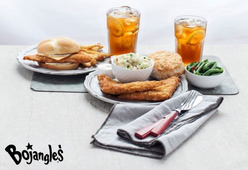 The BojAngler Fish Sandwich & Platter is Offishally Back at Bojangles'