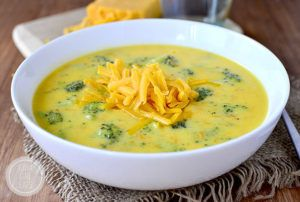 Feb 17 & 18: Soup's On with Broccoli Cheese Soup!