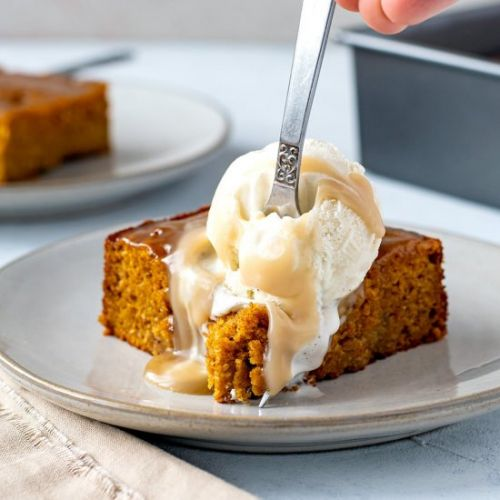 Pumpkin Sticky Date Pudding