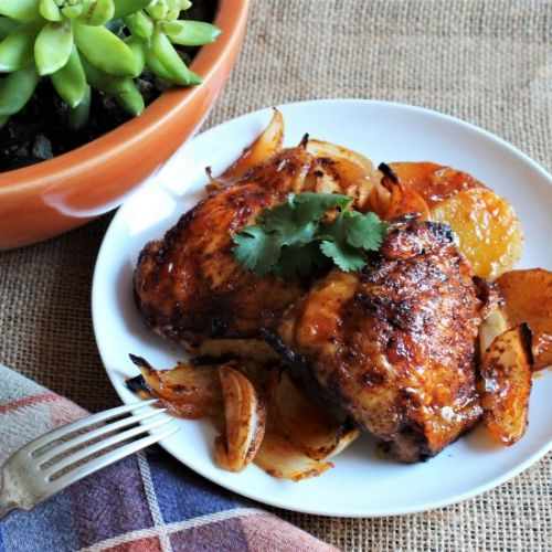 Paprika Chicken with Potatoes