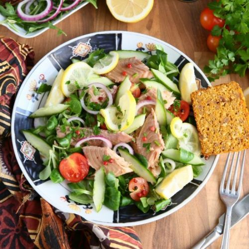 Smoked Rainbow Trout Salad