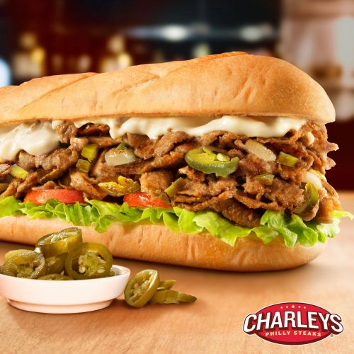 Charleys Philly Steaks Turns Up The Heat With New Jalapeno Cheesesteak