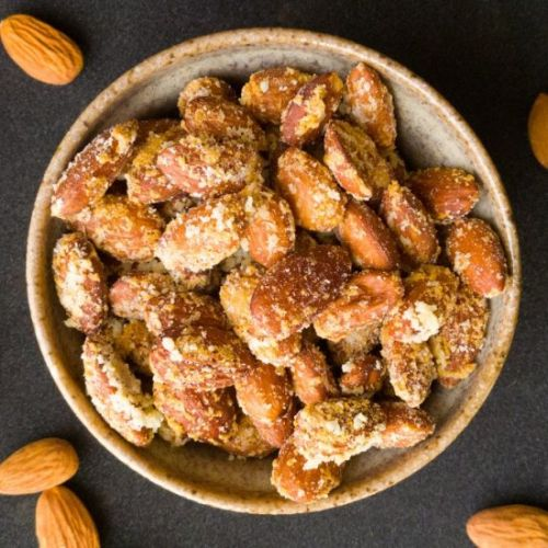Garlic Parmesan Almonds