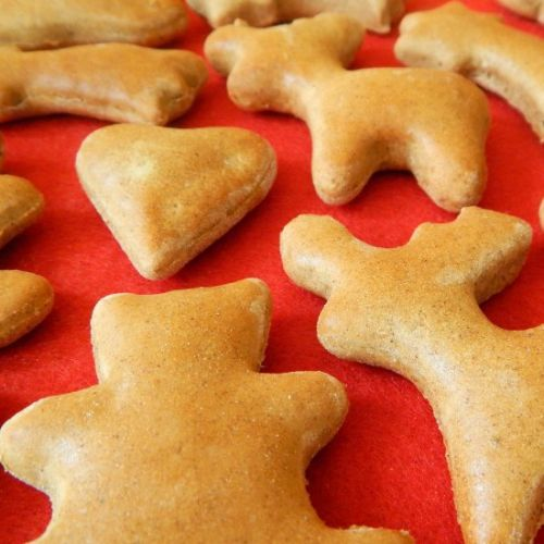 BLW Soft gingerbread cookies