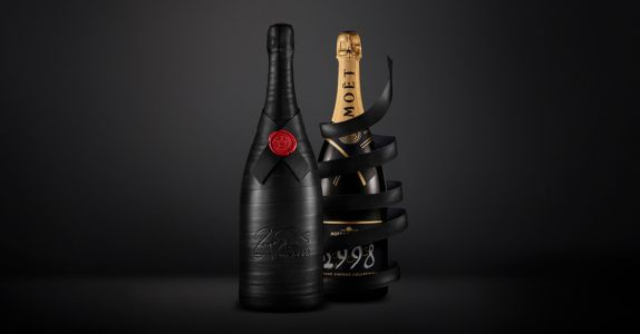 Moët and Chandon Released a $23K Bottle of Champagne in Honor of Roger Federer