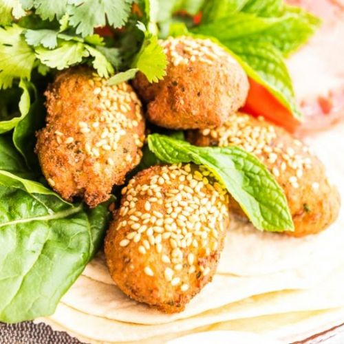 Falafel - homemade