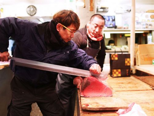 Watch: Tokyo's Tuna King Reigns at Tsukiji Fish Market