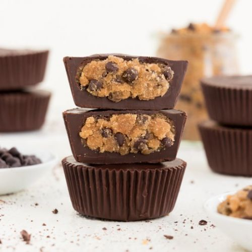 Chocolate Chip Cookie Dough Cups
