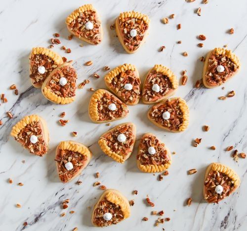 Pecan Pie Decorated Cookies + Brown Sugar and Orange Cut-Outs