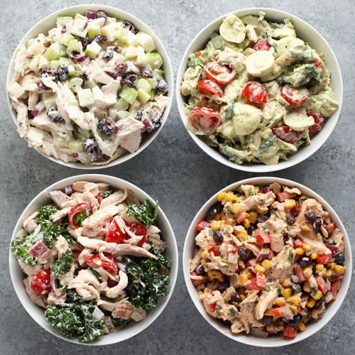 4 Healthy Chicken Salad Recipes