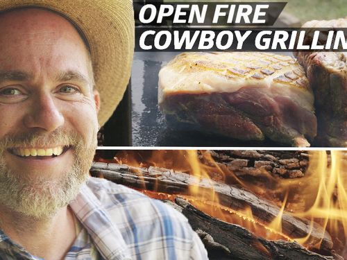 How Grill Master Tom Ellis Uses Open Fire Cooking and a 'Little Hell' to Make a Feast