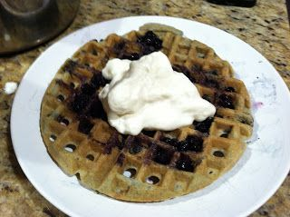 Two paleo-friendly waffle recipes