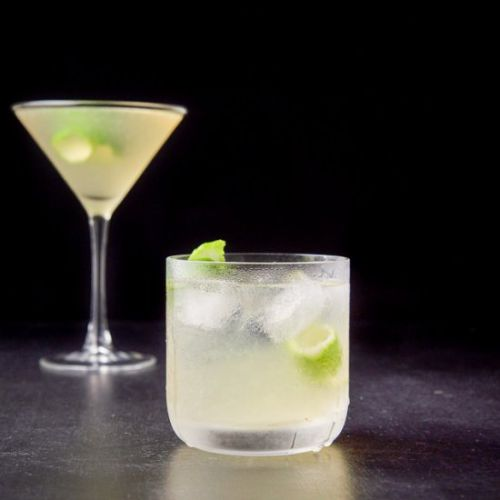 French Gimlet Cocktail