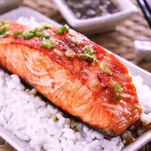 Asian Inspired Salmon