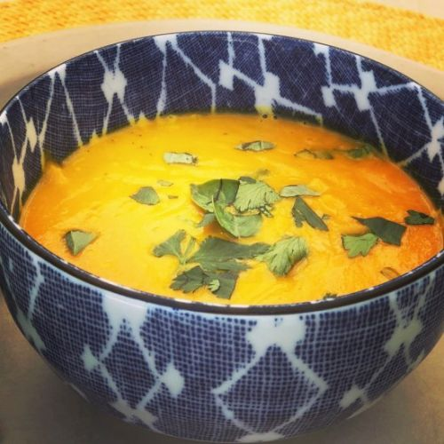Spicy Thai Carrot Soup