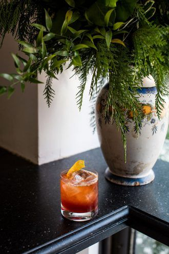 Roasted Orange Negroni Sbagliato