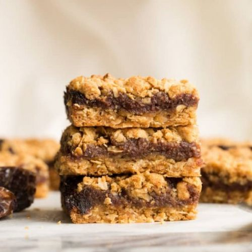 Gluten Free Date Squares