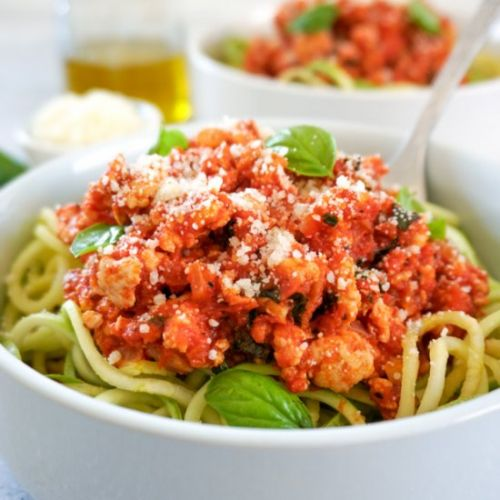 Quick And Easy Turkey Bolognese