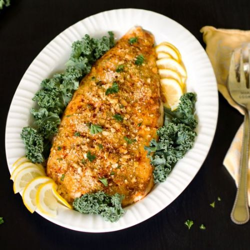The Best Crusted Salmon Recipe