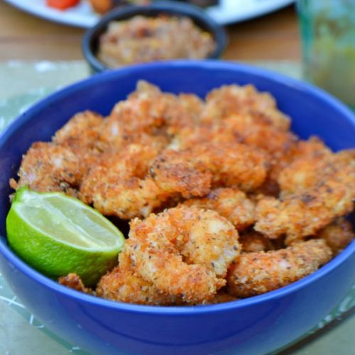 Coconut King Prawns