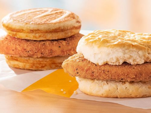 McDonald's Answer to the Chicken Wars Is an Underwhelming Chicken on a Biscuit