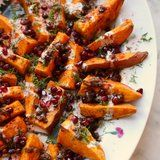 "The Classy Way to Serve Sweet Potato ""Fries"" at Thanksgiving"