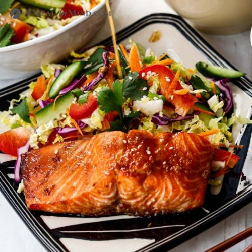 Air Fryer Hoisin Salmon Gluten Free