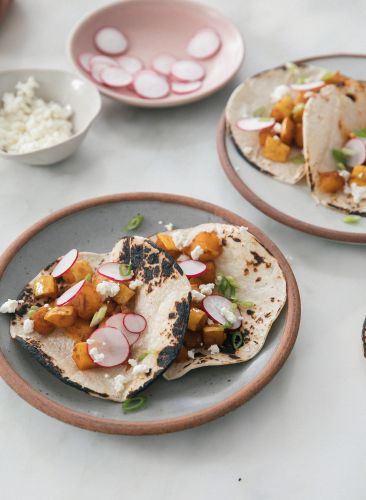 Make Seasonal Delicata Squash Tacos