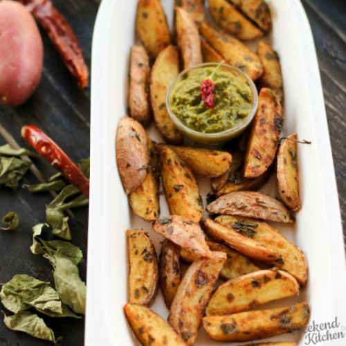 Oven Roasted Potato Wedges