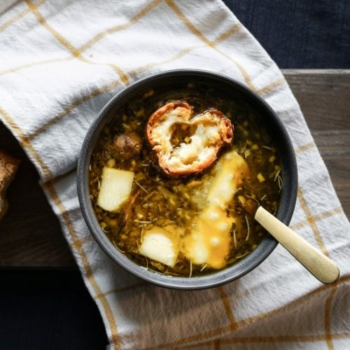 French Shallot Soup