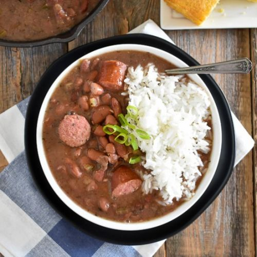 Slow Cooker New Orleans Red Beans