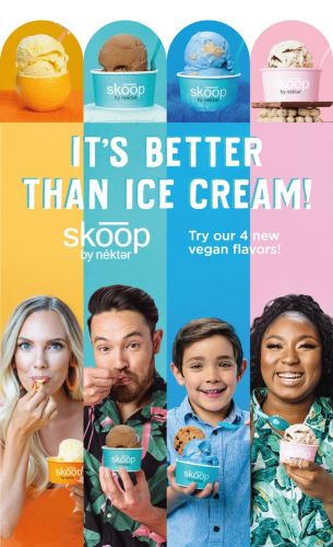 Nékter Juice Bar Hits the Vegan Ice Cream Sweet Spot with Four New Decadent and Guilt-Free Flavors of Skoop This Summer